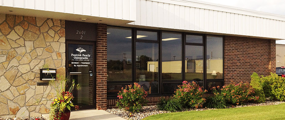 Fredrick Family Chiropractic Building Header Image